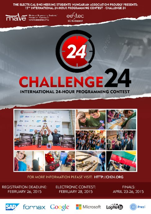 Challenge24 2014 poster